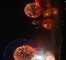 Fireworks! New Year! Sydney! 2013 by Inishiata