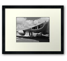 Victor aircraft lusty lindy Framed Print