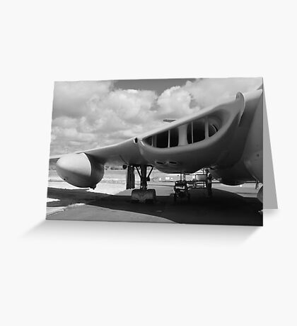 Victor aircraft lusty lindy Greeting Card