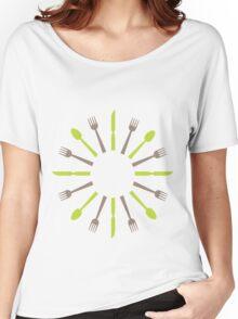 retro kitchen design Women's Relaxed Fit T-Shirt