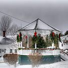 Holiday Gazebo 2012 by Monica M. Scanlan