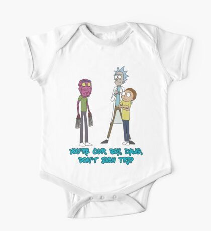 Rick and Morty – Don't Even Trip One Piece - Short Sleeve