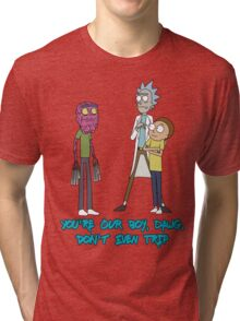 Rick and Morty – Don't Even Trip Tri-blend T-Shirt