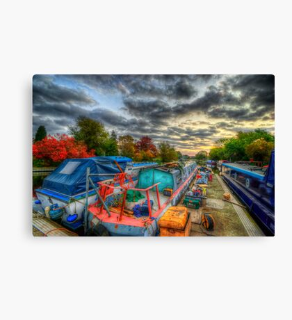 Barrow Boats Canvas Print