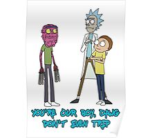 Rick and Morty – Don't Even Trip Poster