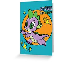 Spike The Dragon Greeting Card