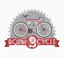 Born To Cycle One Piece - Short Sleeve