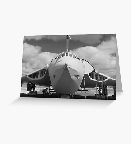 Mighty Victor tanker aircraft Greeting Card