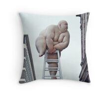 "Looking for the New Year (""Fix"" by Mou Baiyan) Throw Pillow"
