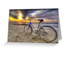 Sunrise Cruiser Greeting Card