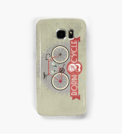 Born To Cycle Samsung Galaxy Case/Skin