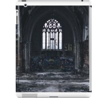 Detroit abandon church iPad Case/Skin