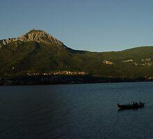 Lake Como in Italian Alps by apalmiter