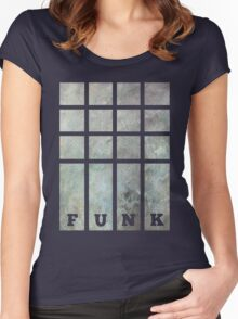 Funky Funk Graphic Tee Women's Fitted Scoop T-Shirt