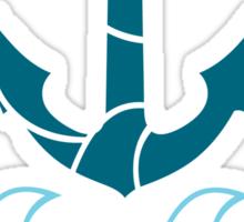 Anchor and sea Sticker