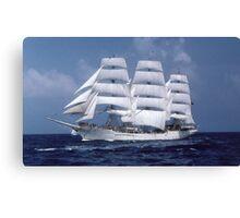 """"""" Tall Ship En-Route """" Canvas Print"""