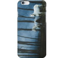 Ghostly Horses at Midnight iPhone Case/Skin