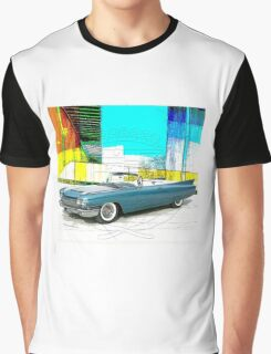1960 Cadillac Convertible Graphic T-Shirt