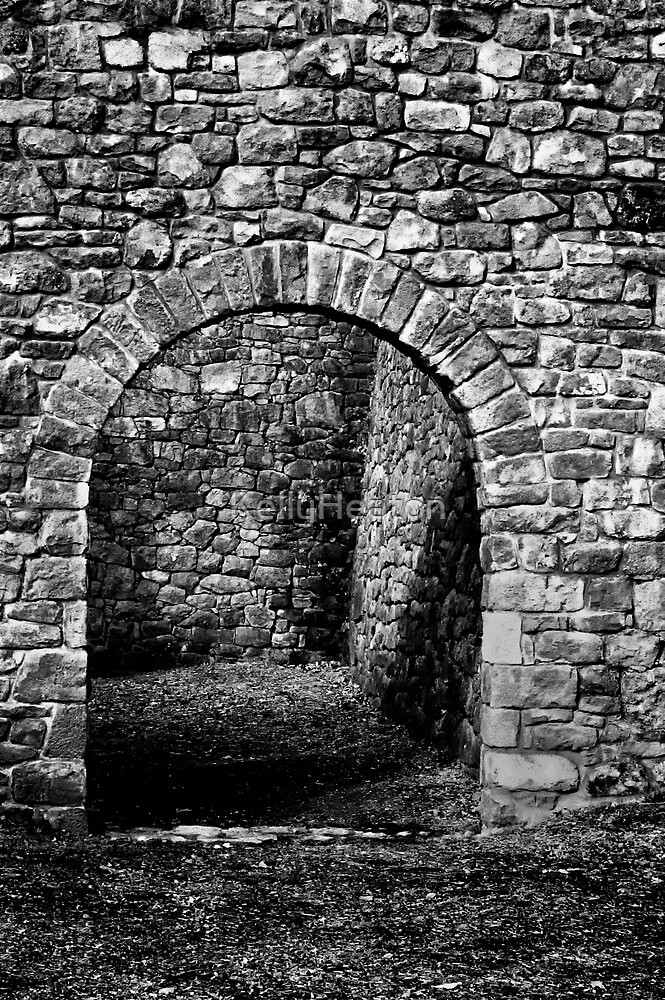 Beyond the Stone Archway by KellyHeaton