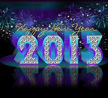 Happy New Year 2013 by Moonlake