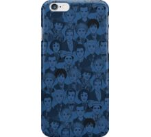 Characters The Doctors - Blue iPhone Case/Skin