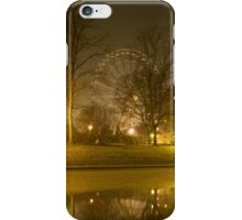 The Wheel of York at Night iPhone Case/Skin