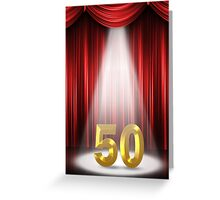50 Years Greeting Card