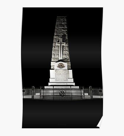 Kings Park War Memorial Poster