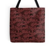 Characters The Doctors - Red Tote Bag
