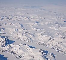 A view over Greenland by Keith Larby