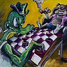 The Checker Game by Jason Gluskin