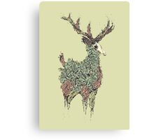 Beautiful Deer Old Canvas Print