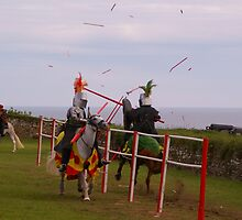 Medieval Joust by Brianicus