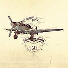 1943 Caza by Diego Verhagen