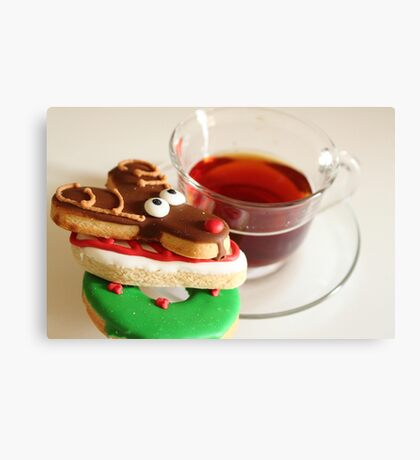 My Christmas Tea Canvas Print
