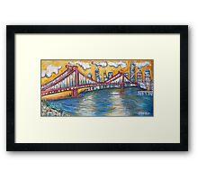 Manhattan Bridge - NYC Framed Print