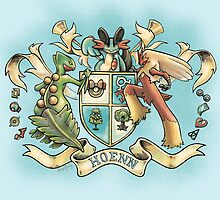 Hoenn Coat of Arms by RobynHaley