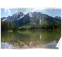 Grand Teton Leigh Lake Poster