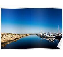 Challenger Harbour of Fremantle Poster