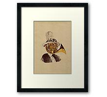 La Muza Framed Print