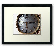 Tempus fugit (Time Flies) Framed Print