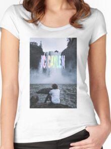 Jc Caylen Waterfall Women's Fitted Scoop T-Shirt