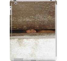 who is? iPad Case/Skin