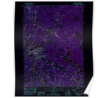 USGS TOPO Map New Hampshire NH Rochester 329767 1983 24000 Inverted Poster