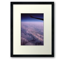 """ A Frozen World "" Framed Print"