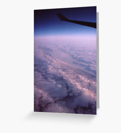 """ A Frozen World "" Greeting Card"