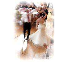 Dancing bride Photographic Print