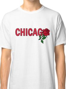 Chicago Rose│Red Classic T-Shirt