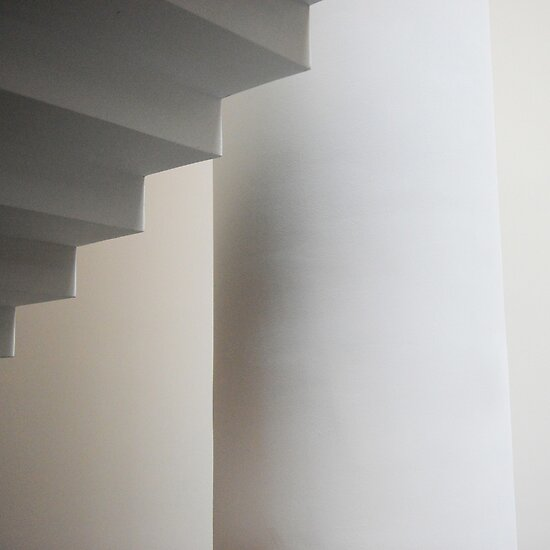SFMOMA STAIRWELL  by Thomas Barker-Detwiler