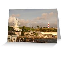 Plymouth Hoe Greeting Card